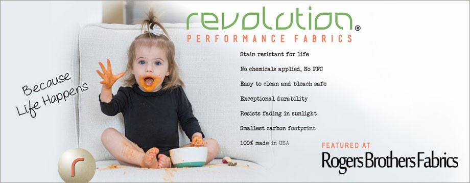 Revolution Performance fabrics at Rogers Brothers Fabrics, Florence, SC