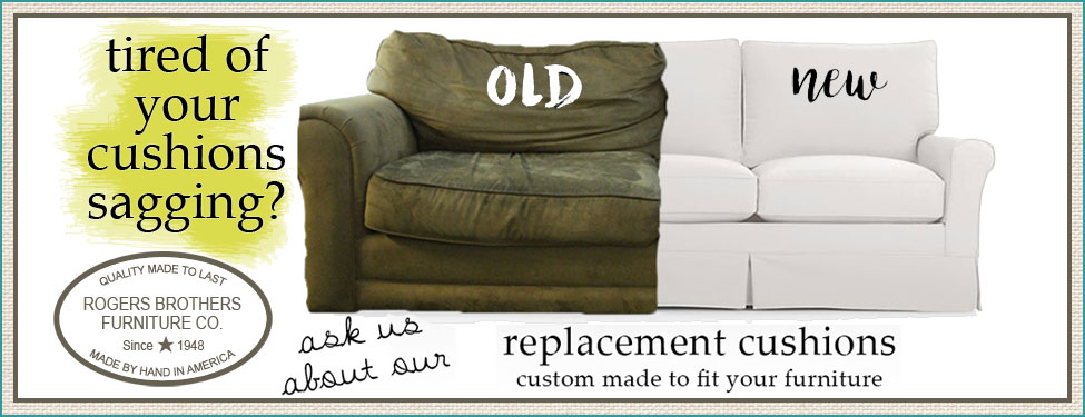 Replacement Custom Cushions for your furniture